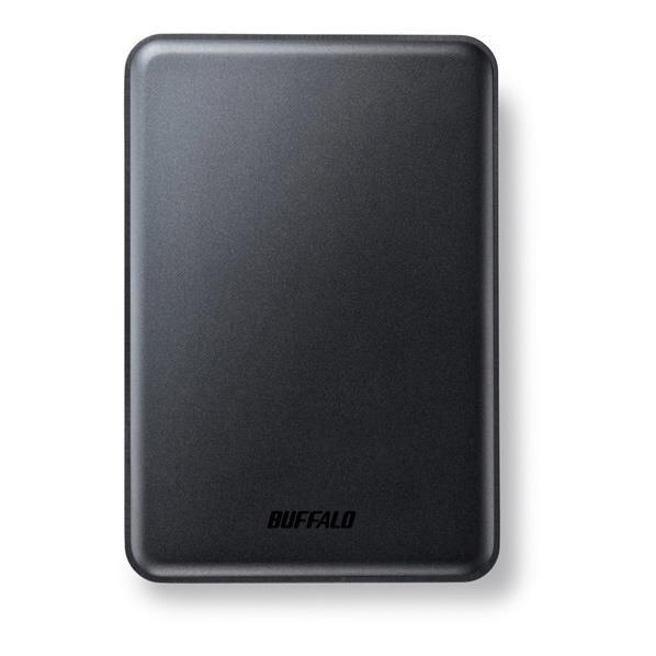 【送料無料】BUFFALO アルミ素材&スリム ポータブルHDD(2TB) ミニステーション ブラック HD-PUS2.0U3-BC [HDPUS20U3BC]【KK9N0D18P】