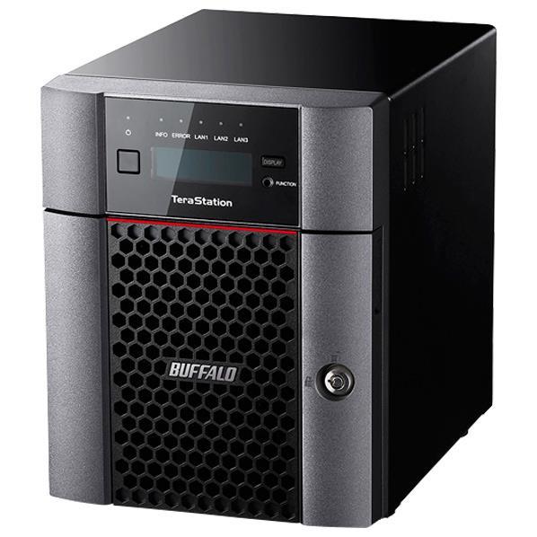 【送料無料】BUFFALO 10GbE標準搭載 法人様向け4ドライブNAS(16TB) テラステーション TS5410DN1604 [TS5410DN1604]【KK9N0D18P】