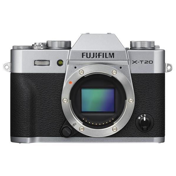 富士フイルム デジタル一眼カメラ・ボディ Xシリーズ シルバー FX-T20-S [FXT20S]【RNH】