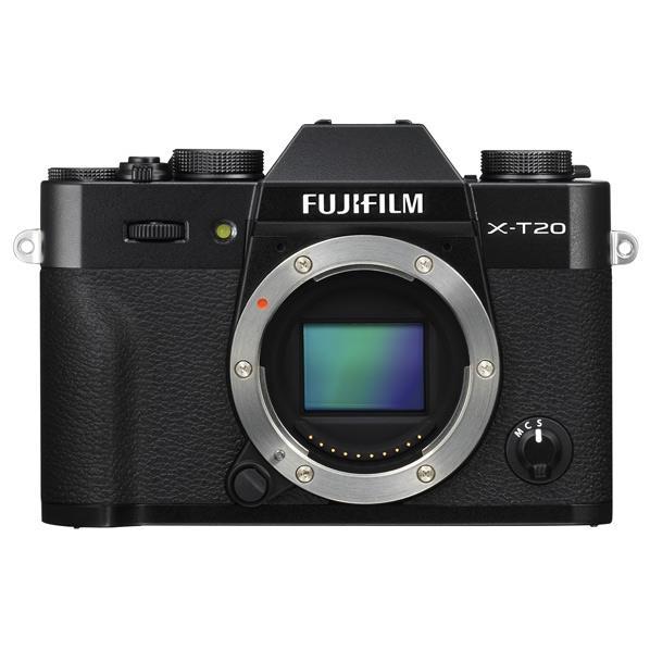 富士フイルム デジタル一眼カメラ・ボディ Xシリーズ ブラック FX-T20-B [FXT20B]【RNH】