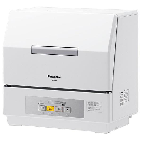 パナソニック 食器洗い乾燥機 プチ食洗 ホワイト NP-TCR4-W [NPTCR4W]【RNH】