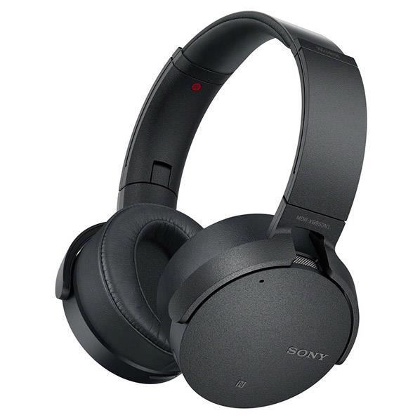 SONY 密閉ヘッドバンド型ワイヤレスノイズキャンセリングヘッドセット ブラック MDR-XB950N1 B [MDRXB950N1B]【RNH】