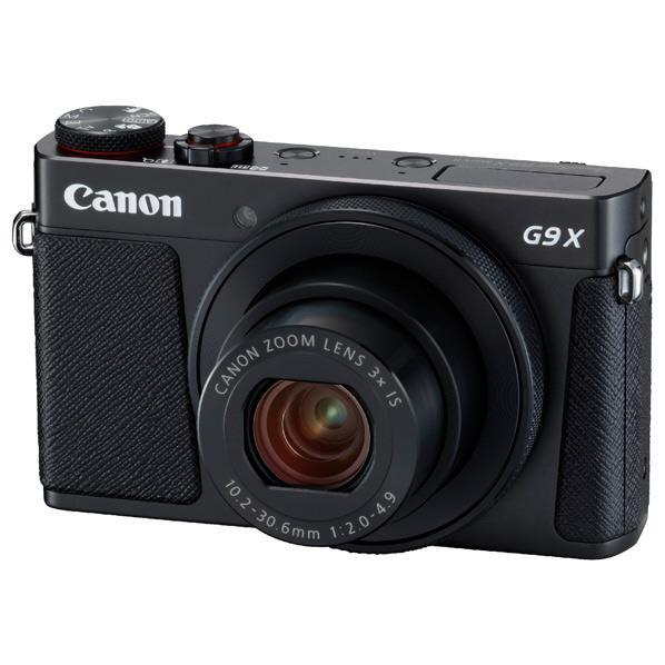 キヤノン デジタルカメラ PowerShot G9 X Mark II ブラック PSG9XMK2BK [PSG9XMK2BK]【RNH】