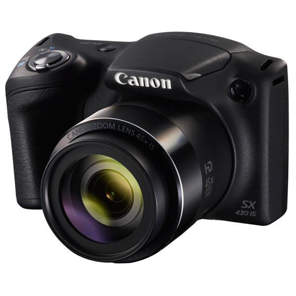 キヤノン デジタルカメラ PowerShot SX430 IS ブラック PSSX430IS [PSSX430IS]【RNH】