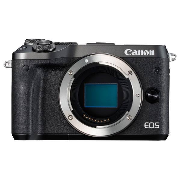 キヤノン デジタル一眼カメラ・ボディ EOS M6 ブラック EOSM6BKBODY [EOSM6BKBODY]【RNH】