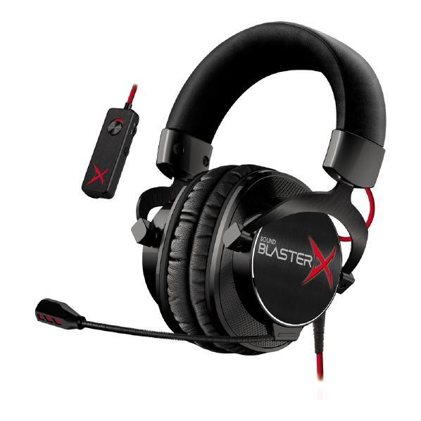 クリエイティブ ゲーミングヘッドセット Sound BlasterX H7 Tournament Edition SBX-H7-TE [SBXH7TE]