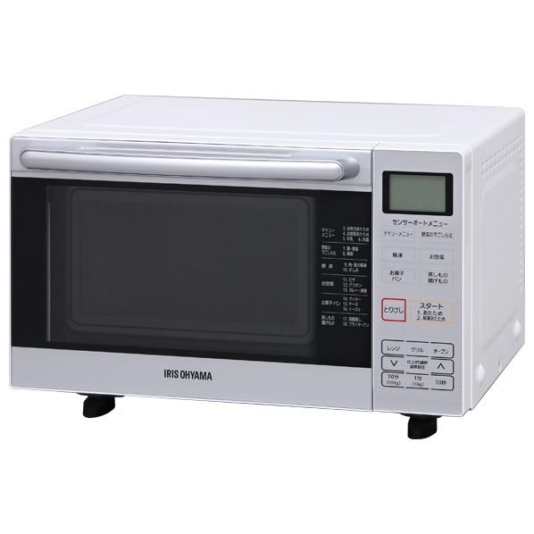 アイリスオーヤマ オーブンレンジ ホワイト MO-FS1 [MOFS1]【RNH】