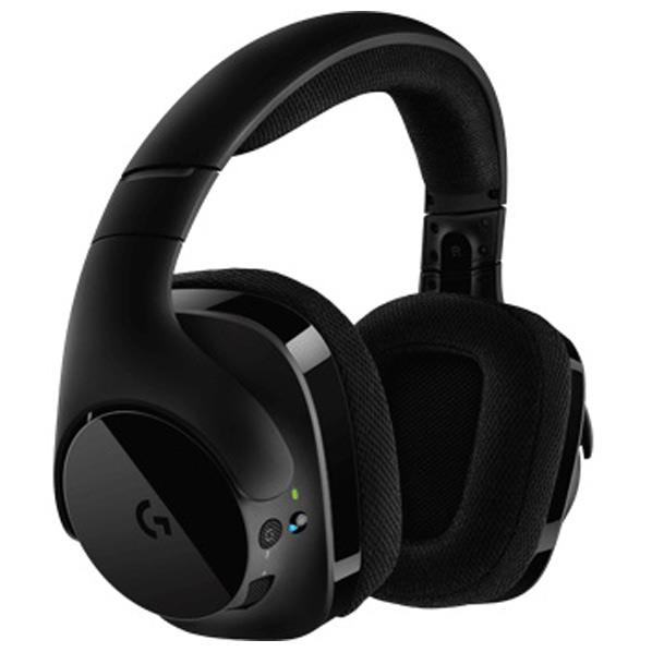 ロジクール ワイヤレスゲーミングヘッドセット ブラック G533 [G533]