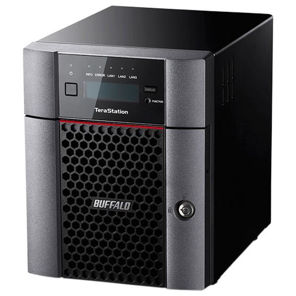 BUFFALO 10GbE標準搭載 法人様向け4ドライブNAS(8TB) テラステーション TS5410DN0804 [TS5410DN0804]