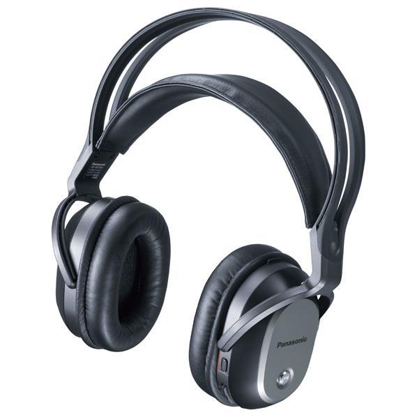パナソニック 密閉ヘッドバンド型ワイヤレスヘッドフォン ブラック RP-WF70-K [RPWF70K]【RNH】