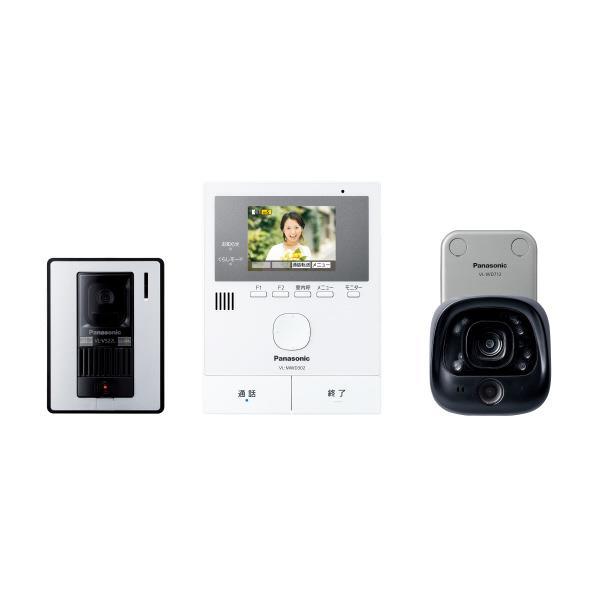 パナソニック ワイヤレスカメラ付テレビドアホン VL-SVD302KLC [VLSVD302KLC]【RNH】