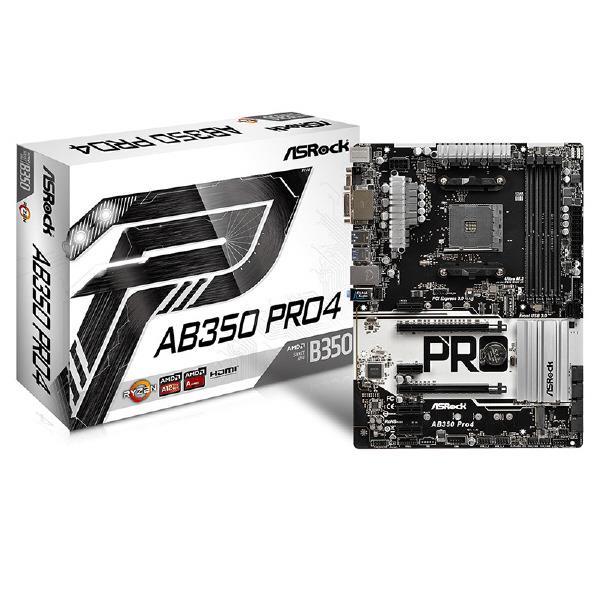 【送料無料】ASROCK AMD B350 ATXマザーボード AB350 PRO4 [AB350PRO4]