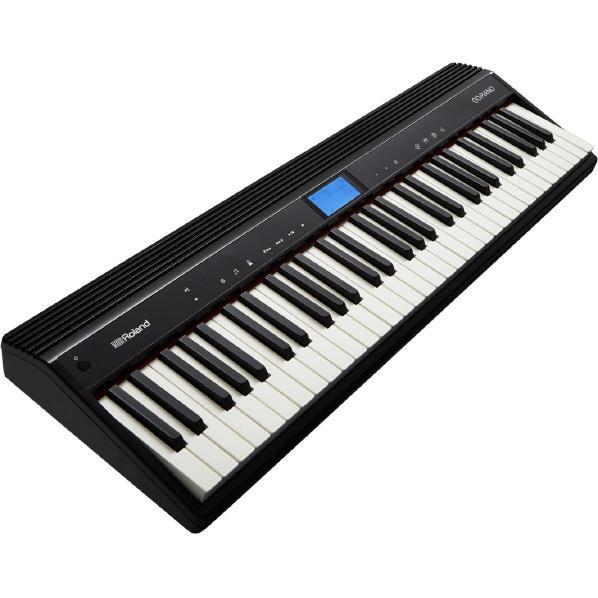 ローランド 電子キーボード GO:PIANO ブラック GO-61P [GO61P]