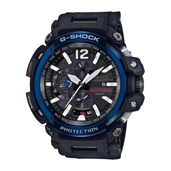 カシオ GPSソーラー電波腕時計 G-SHOCK ブルー GPW-2000-1A2JF [GPW20001A2JF]