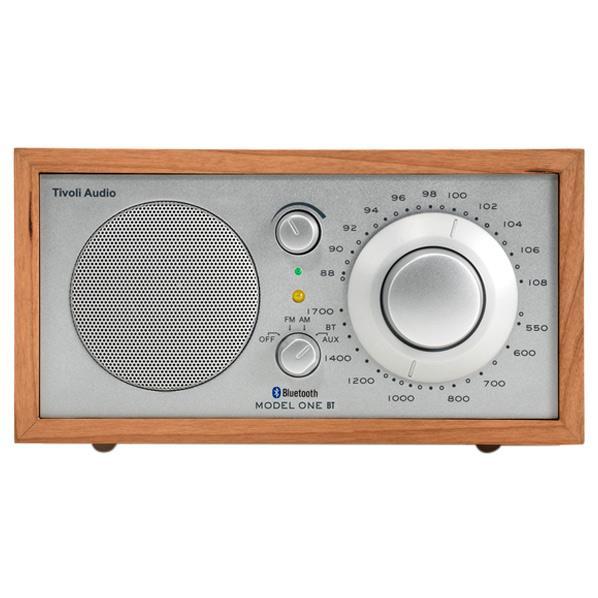 Tivoli Audio モノラルテーブルラジオ Model One BT チェリー/シルバー M1BT-1654-JP [M1BT1654JP]【JNSP】