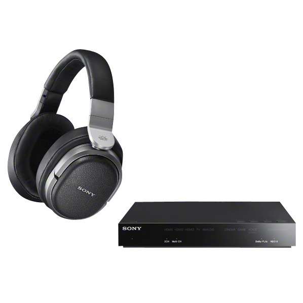 SONY ワイヤレス密閉ヘッドバンド型ヘッドフォン MDR-HW700DS [MDRHW700DS]【RNH】