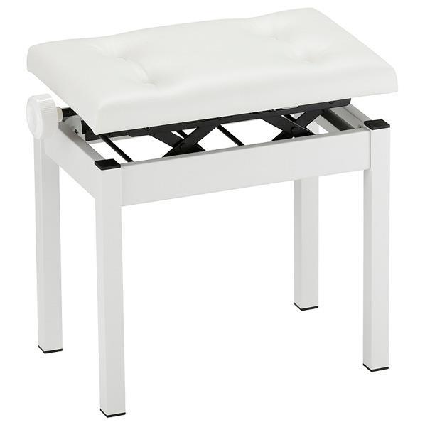 【送料無料】コルグ ピアノ椅子 ホワイト PC-550-WH [PC550WH]
