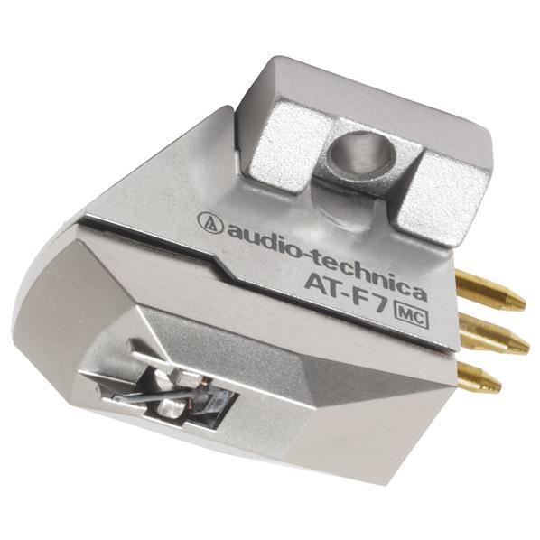 【送料無料】オーディオテクニカ MC型(デュアルムービングコイル)ステレオカートリッジ AT-F7 [ATF7]