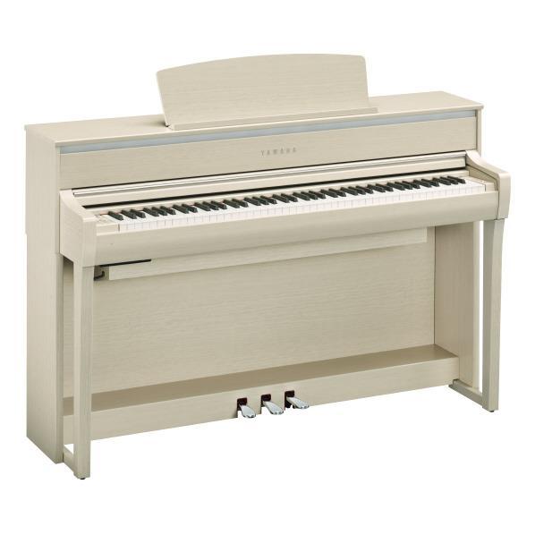 ヤマハ 電子ピアノ Clavinova ホワイトアッシュ調 CLP-675WA [CLP675WA]