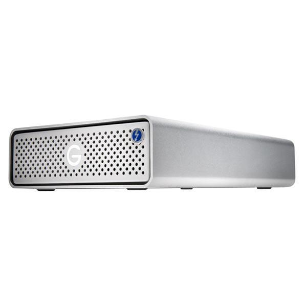 HGST 外付ハードディスク(10TB) G-DRIVE Thunderbolt 3 シルバー 0G05381 [0G05381]