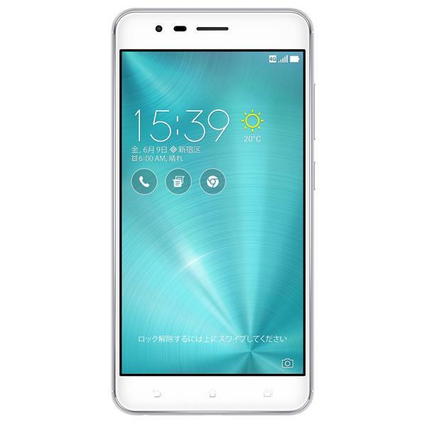 【送料無料】ASUS SIMフリースマートフォン Zenfone Zoom S シルバー ZE553KL-SL64S4 [ZE553KLSL64S4]