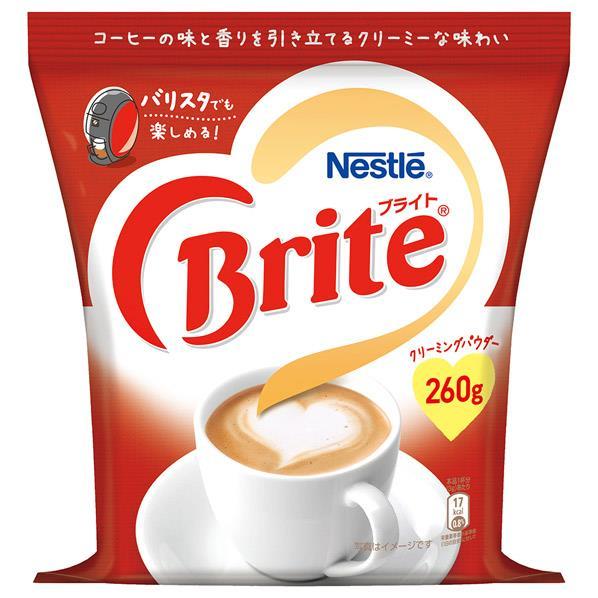 スプーン1杯でコーヒーのコクを 国際ブランド 2杯で牛乳にも負けないクリーミーなコーヒーに ネスレ ブライト 買い物 BRTORB01 SSPT 260g