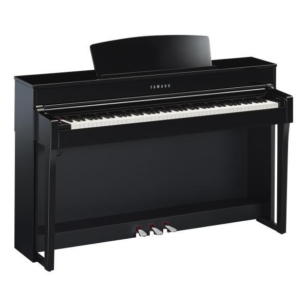 ヤマハ 電子ピアノ Clavinova 黒鏡面艶出し CLP-645PE [CLP645PE]