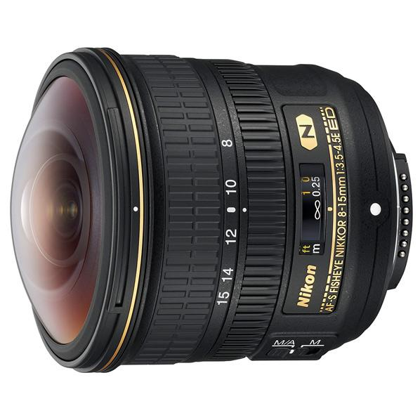 ニコン フィッシュアイズームレンズ AF-S Fisheye NIKKOR 8-15mm f/3.5-4.5E ED AFS8-15E [AFS815E]