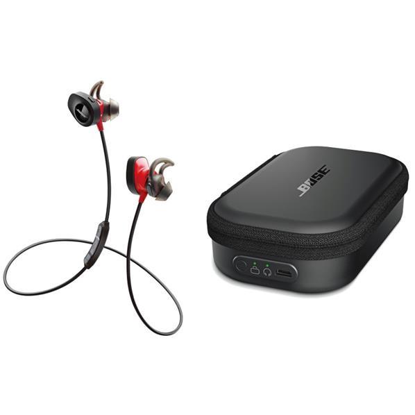 BOSE ワイヤレスインナーイヤーヘッドフォン+SoundSport wireless headphone専用充電ケースセット SoundSport Pulse パワーレッド SSPORT PLS RED CHRGCASE [SSPORTPLSREDCHRGCASE]
