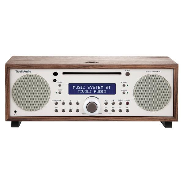 Tivoli Audio Bluetooth対応ミニコンポ Music System BT クラシックウォールナット/ベージュ MSYBT-1529-JP [MSYBT1529JP]【JNSP】