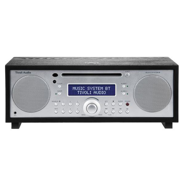 Tivoli Audio Bluetooth対応ミニコンポ Music System BT ブラック/シルバー MSYBT-1775-JP [MSYBT1775JP]