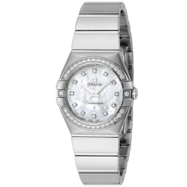 【送料無料】オメガ 腕時計 コンステレーション ホワイトパール 123.15.27.60.55.005 [12315276055005]