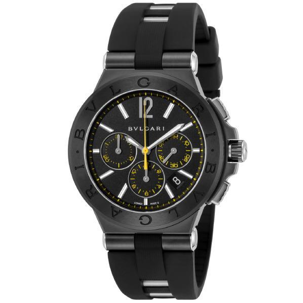 ブルガリ 腕時計 ディアゴノウルトラネロ ブラック DG42BBSCVDCH/2 [DG42BBSCVDCH2]