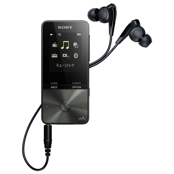 SONY デジタルオーディオプレイヤー(16GB) ウォークマンSシリーズ ブラック NW-S315 B [NWS315B]【RNH】