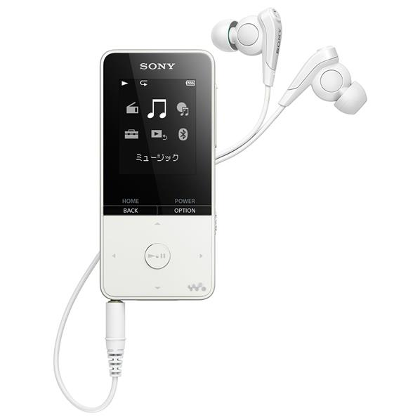 SONY デジタルオーディオプレイヤー(16GB) ウォークマンSシリーズ ホワイト NW-S315 W [NWS315W]【RNH】
