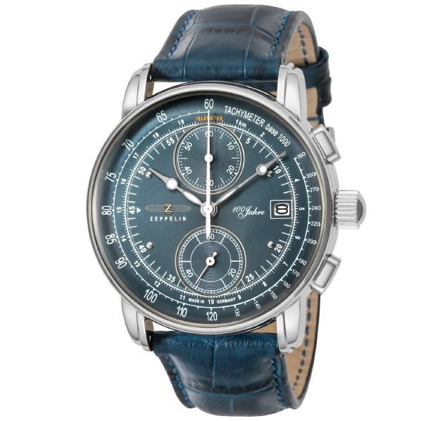 ツェッペリン 腕時計 100周年 ネイビー 86703 [86703]