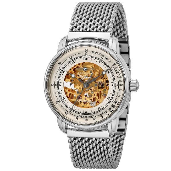ツェッペリン 腕時計 100周年 ホワイト 8656M-1 [8656M1]