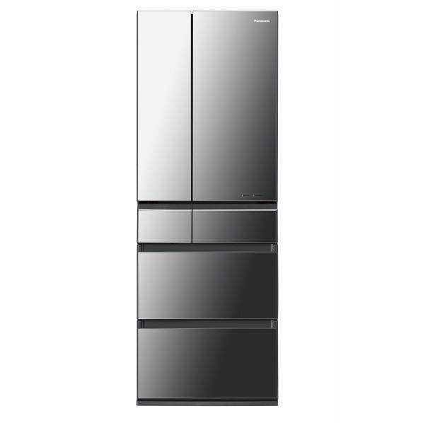 【送料無料】パナソニック 500L 6ドア ノンフロン冷蔵庫 オ二キスミラー NR-F503HPX-X [NRF503HPXX]【RNH】