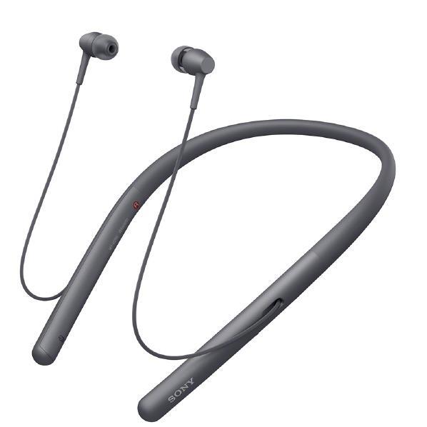 SONY ワイヤレスステレオヘッドセット h.ear in 2 Wireless グレイッシュブラック WI-H700 B [WIH700B]【RNH】