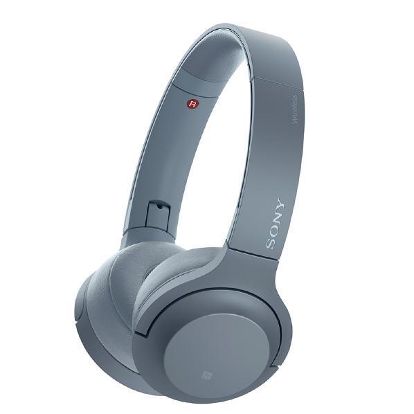 SONY ワイヤレスステレオヘッドセット h.ear on 2 Mini Wireless ムーンリットブルー WH-H800 L [WHH800L]【RNH】