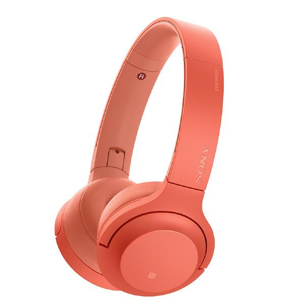 SONY ワイヤレスステレオヘッドセット h.ear on 2 Mini Wireless トワイライトレッド WH-H800 R [WHH800R]【RNH】