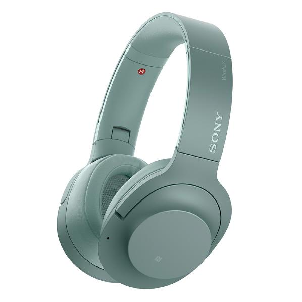 SONY ワイヤレスノイズキャンセリングステレオヘッドセット h.ear on 2 Wireless NC ホライズングリーン WH-H900N G [WHH900NG]【RNH】