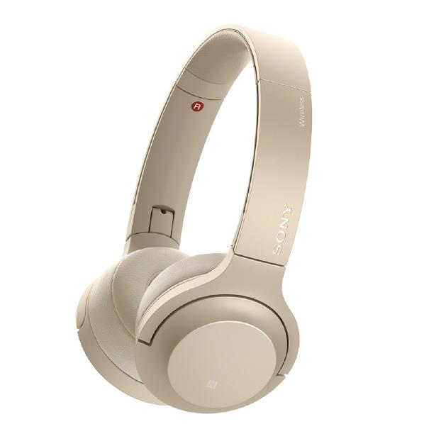 SONY ワイヤレスステレオヘッドセット h.ear on 2 Mini Wireless ペールゴールド WH-H800 N [WHH800N]【RNH】