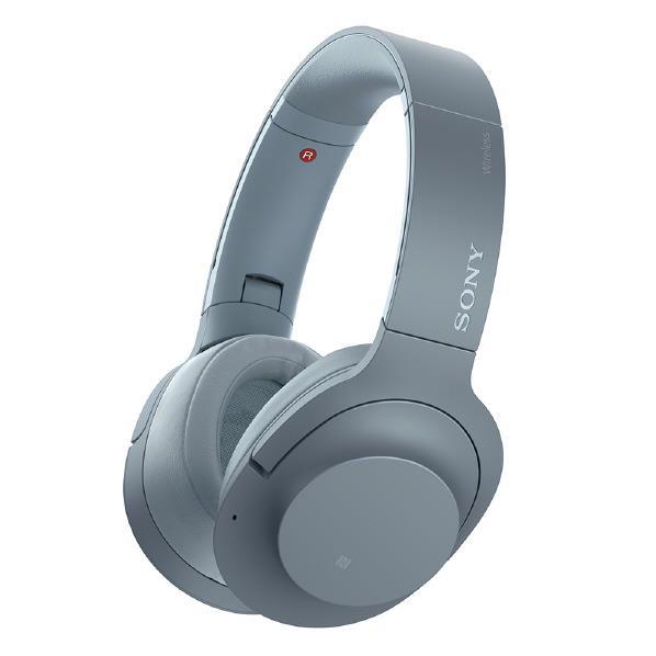 【送料無料】SONY ワイヤレスノイズキャンセリングステレオヘッドセット h.ear on 2 Wireless NC ムーンリットブルー WH-H900N L [WHH900NL]【RNH】