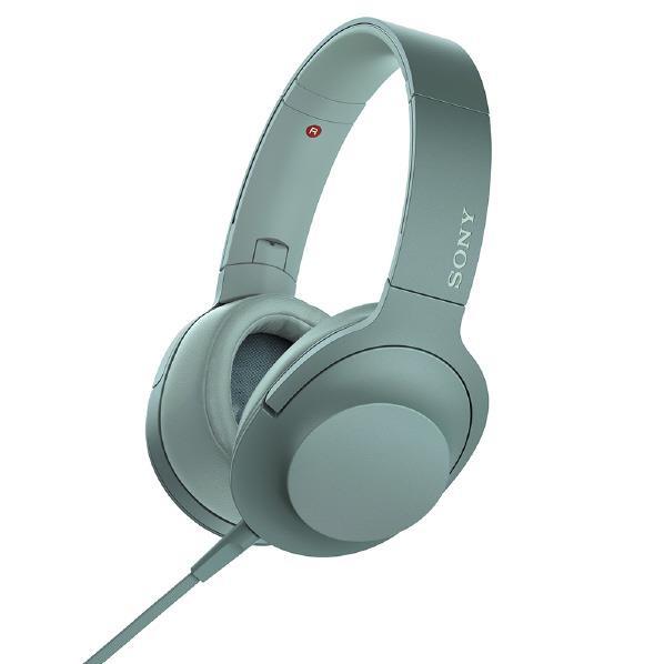 SONY ステレオヘッドフォン h.ear on 2 ホライズングリーン MDR-H600A G [MDRH600AG]【RNH】