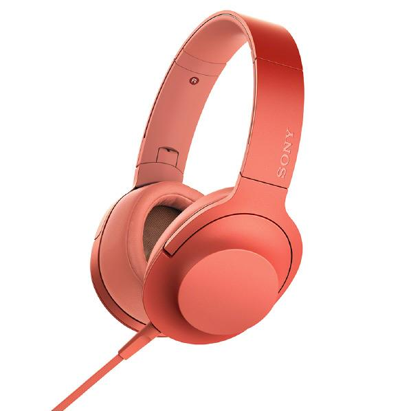 SONY ステレオヘッドフォン h.ear on 2 トワイライトレッド MDR-H600A R [MDRH600AR]【RNH】