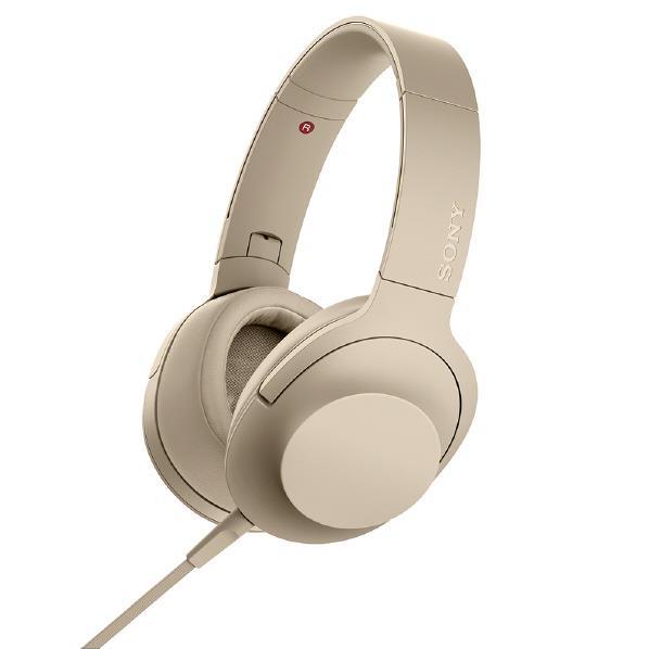 SONY ステレオヘッドフォン h.ear on 2 ペールゴールド MDR-H600A N [MDRH600AN]【RNH】