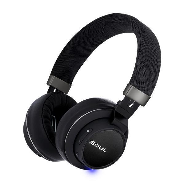 SOUL Bluetoothヘッドフォン Impact OE BLACK SL-2101 [SL2101]
