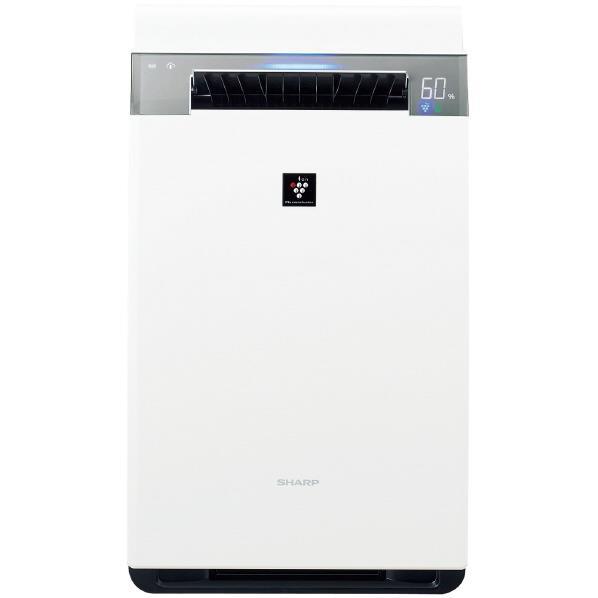 シャープ 加湿空気清浄機 KuaL プラズマクラスター ホワイト KIX75E5W [KIX75E5W]【RNH】