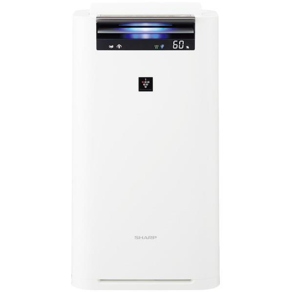 シャープ 加湿空気清浄機 KuaL プラズマクラスター ホワイト KIS50E5W [KIS50E5W]【RNH】